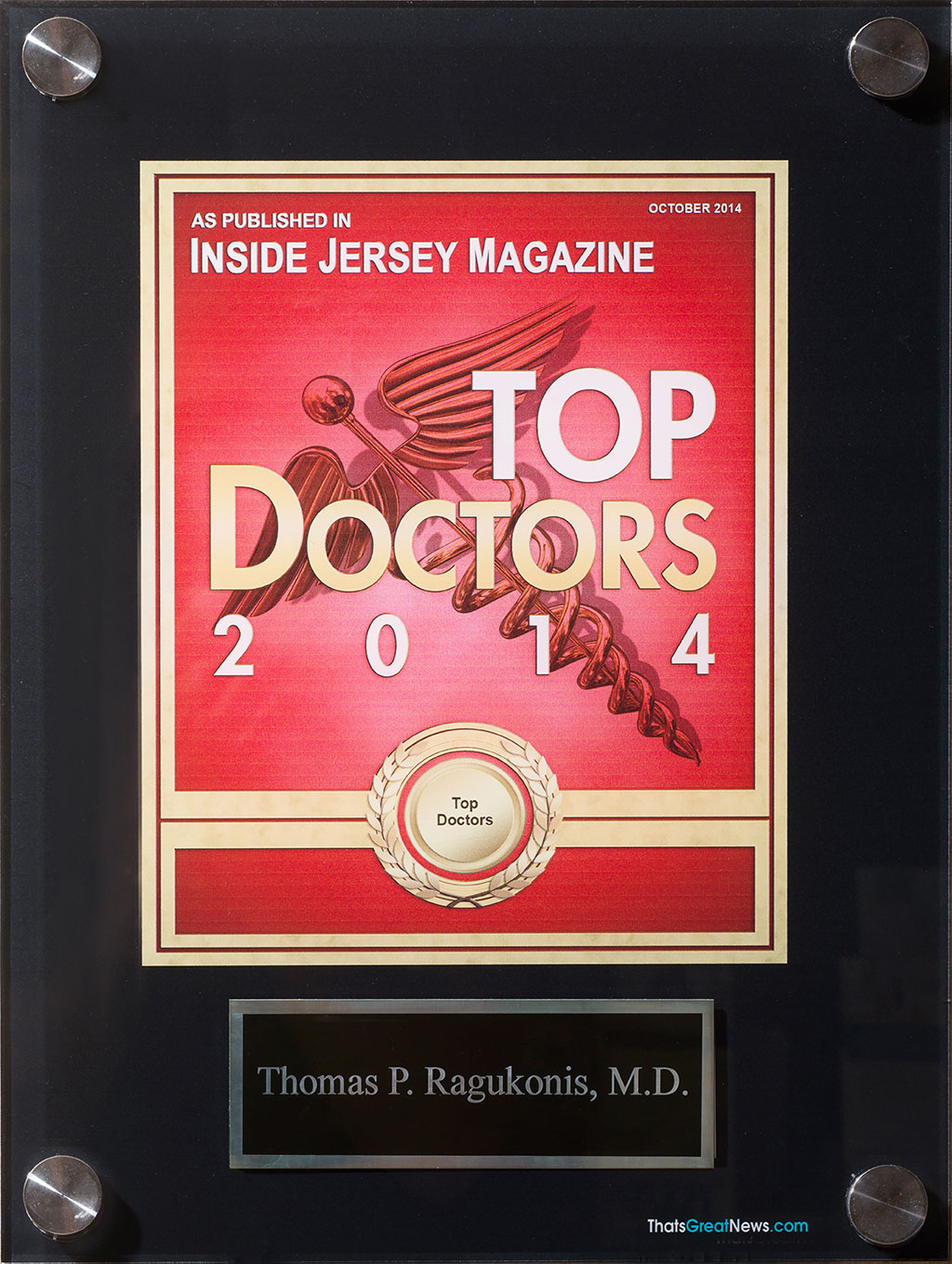 Inside Jersey Magazine Tops Doctors 2014