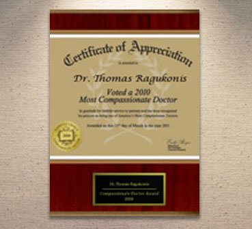 2010 Most Compassionate Doctor Award