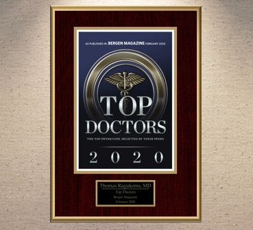 Bergen Magazine Top Doctors 2020 Award.
