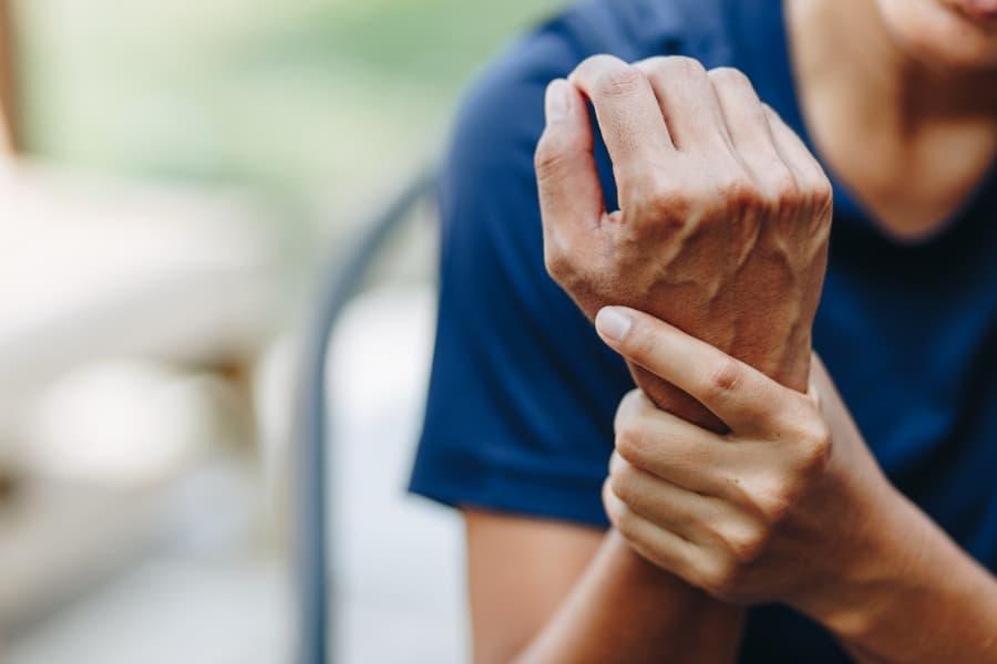 Patient With Wrist Pain